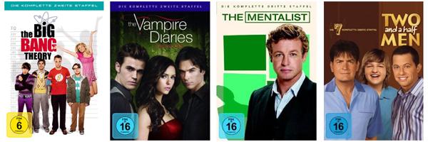 3 TV-Serien-Staffeln für 25 € bei Müller und Konter von Amazon