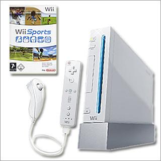[Wii] Nintendo Wii Konsole inkl. Wii Sports für 225€