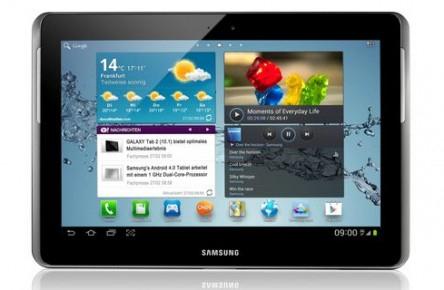 """Samsung Galaxy Tab 2 (10,1"""", WiFi, 16 GB) für 249 € bei Base - 20% Ersparnis"""