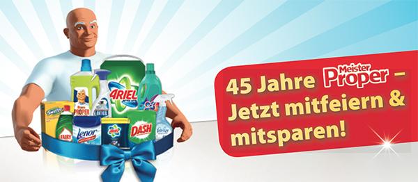 5 Euro Gutschein beim Kauf von 3 Haushaltsprodukten für mindestens 5 Euro