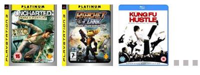 [PS3][Blu-Ray] Platinum-Spiele oder Blu-Rays für 18€