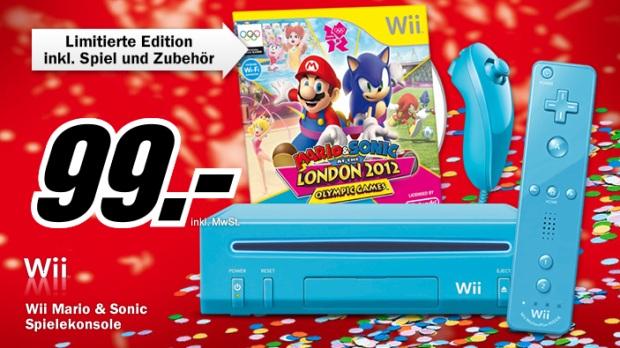 Nintendo Wii inkl. Mario & Sonic Olympia für 99€ statt 130€