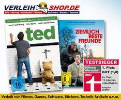 DailyDeal: 40 € Gutschein für Verleihshop.de für 12,50 €