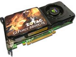 [GraKa] Zotac 8800 GTS (G92) für 99€