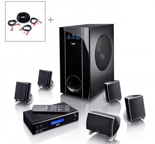5.1 Lautsprechersystem Teufel Concept E300 Digital für 349,99 € – 26% Ersparnis
