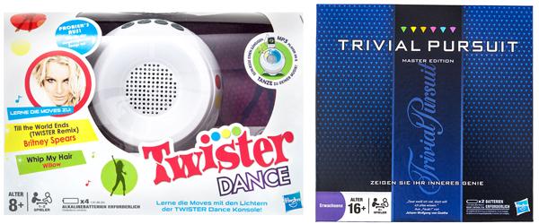 Brands4Friends: Zahlreiche Brettspiele von Hasbro im Preis gesenkt - z.B. Twister Dance mit 34% Rabatt