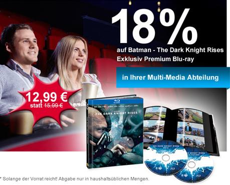 Müller: The Dark Knight Rises (Limited Media Book Edition) für 15,99 € *Update* jetzt nur 12,99 €!