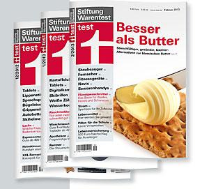 """3 Ausgaben des Magazins """"test"""" von Stiftung Warentest gratis - Kündigung erforderlich!"""