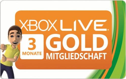 3 Monate Xbox Live Gold für 7 € bei Saturn Österreich - nur heute