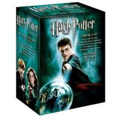[DVD] Harry Potter Box: Teil 1-5 für 24€