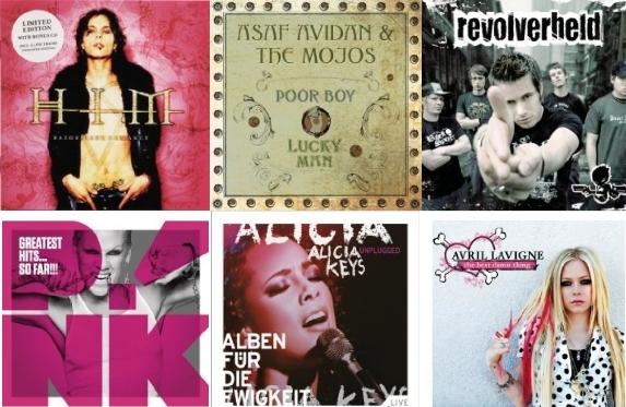 Über 1.200 MP3-Alben bei Amazon für je 3,99€