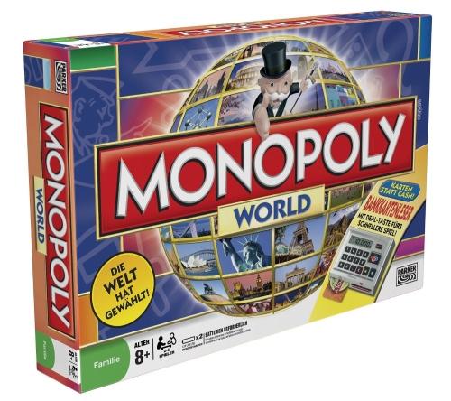 Monopoly World bei Amazon für 24,99€ - 37% sparen