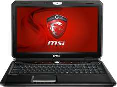 Gamer-Notebook MSI GX60 (15,6'', LED-Backlight, 8GB RAM) für 899€ - 16% sparen