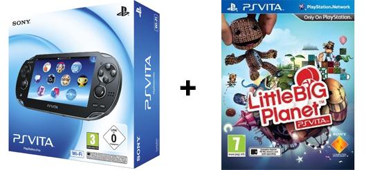 PlayStation Vita + ausgewähltes Spiel für 172 € bei Amazon.it - 18% sparen