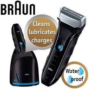 Herrenrasierer Braun Series 5 550cc mit Reinigungsstation für 105,90 € - 24% sparen