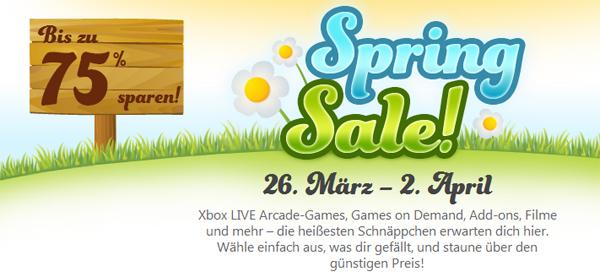 Xbox 360 Spring Sale mit bis zu 75% Rabatt - z.B. Hitman: Absolution für 19,99 €