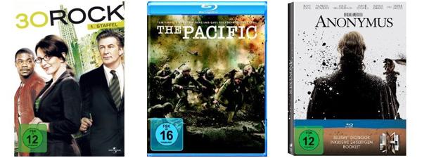 Amazon Film- und Serienangebote der Woche - z.B. The Pacific (Blu-ray) für 17,97 € statt 31,06 €