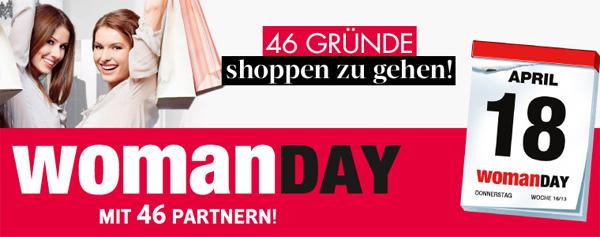 Woman Day April 2013 – Alle Gutscheine und Aktionen im Überblick *Update* Heute ist Woman Day!