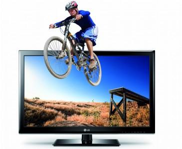 LG 32LM3400 (3D, Dual-Tuner) für 249 € bei Amazon - günstigster 3D-Fernseher