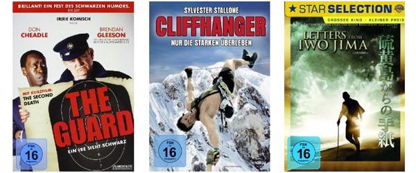 Gute Filmangebote bei Amazon - z.B. 2 Blu-rays für 14 € oder 6 DVDs für 20 €