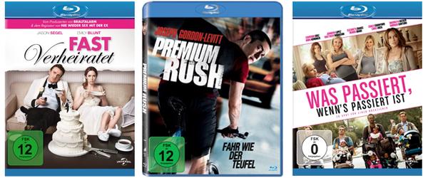 Gute Blu-ray-Angebote von Media Markt und Konter von Amazon - Filme ab 7,90 €