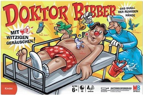 Kinderspiel Dr. Bibber ab 8,35 € bei Amazon - bis zu 51% sparen