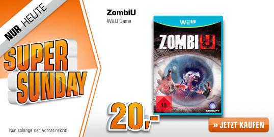 Saturn Super Sunday: ZombiU jetzt ab 20 € - bis zu 49% sparen