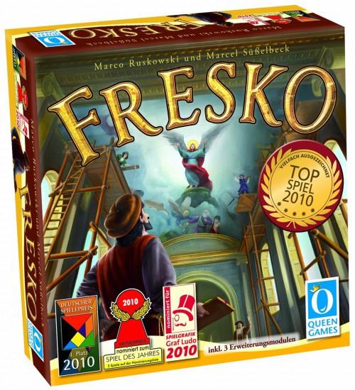 """Brettspiel """"Fresko"""" für 24,99 € bei Amazon *Update* jetzt für nur noch 19,98 €"""