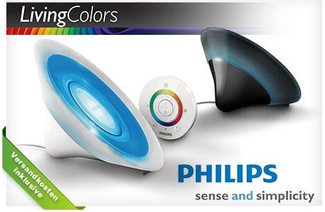 Philips LivingColors Aura für 49,95 € bei Groupon *Update* jetzt im DealClub mit 14% Ersparnis