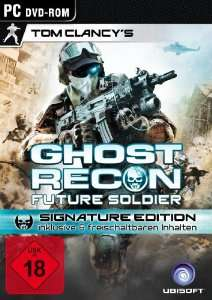 Tom Clancy's Ghost Recon Future Soldier - Signature Edition (PC) für 5 € - 61% Ersparnis
