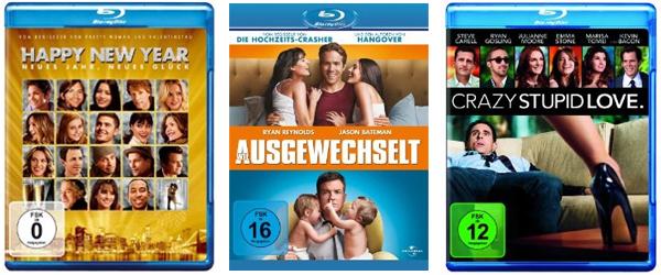 Neue Filmangebote bei Amazon - Blu-rays ab 6,97 € oder 6 DVDs für 20 €