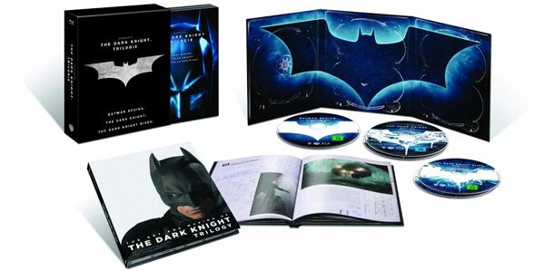 The Dark Knight Trilogy (5 Blu-rays) für 29,61 € - 41% Ersparnis