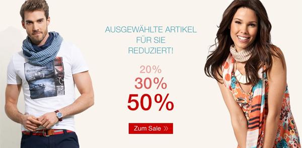 Sale bei Tom Tailor mit bis zu 50% Rabatt auf ausgewählte Mode *Update* jetzt 20% zusätzlich auf reduzierte Ware