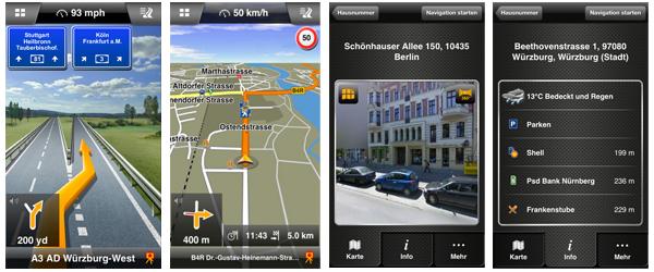 iTunes Store: Navigations-Apps von TomTom und Navigon mit bis zu 30% Ersparnis