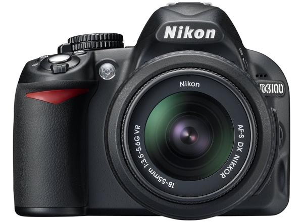 Digitale Spiegelreflexkamera Nikon D3100 mit 18-55 mm-Objektiv für 311 € *Update* jetzt für 279 €