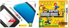 Nintendo 3DS XL + New Super Mario Bros. 2 für 147 € bei Amazon UK - 32% Ersparnis