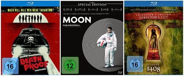 Neue Filmangebote bei Amazon: 6 DVDs für 20 € oder 2 Blu-rays für 14 €