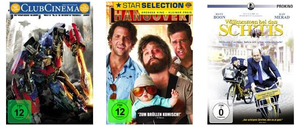 Amazon: 4 Blu-rays für 30 € und zahlreiche DVDs für je 5,55 € *Update* viele neue Titel hinzugefügt