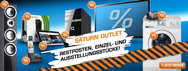Saturn: 10% Rabatt auf Einzelstücke und Restposten im Ebay-Outlet