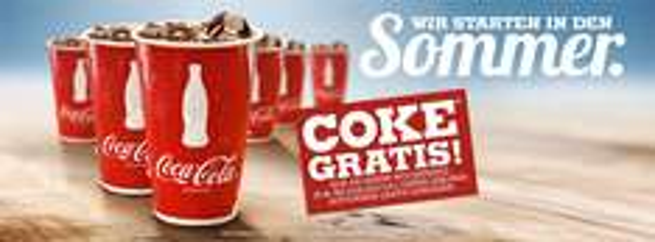 Burger King Deutschland: Softdrink (0,25 l) das ganze Wochenende gratis erhalten