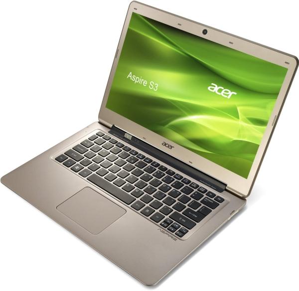 Acer Aspire S3-391 (13, 3'', Intel Core-i3, 500 GB HDD + 20 GB SSD, 4 GB RAM) für 395 € - 11% sparen