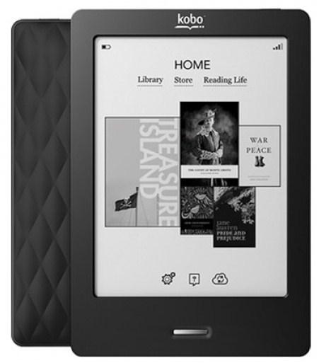 eBook-Reader Kobo Touch für 55 € bei Comtech - 20% Ersparnis