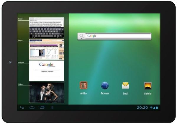 Odys Neo S 8 Plus (8'', Dual-Core 1,6 GHz, 1 GB RAM) für 99,95 € - 20% sparen