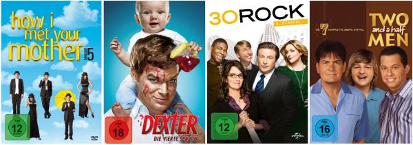 """Amazon kontert die Saturn """"3 für 24 €"""" Aktion: Ausgesuchte TV-Serienstaffeln und CD-Boxen günstiger"""