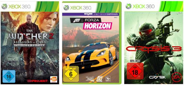 3. Tag des Xbox Live Ultimate Game Sale heute z.B. mit Forza Horizon, Crysis 3, The Witcher 2 u.v.m. *Update* Finaltag z.B. mit Hitman für 9,99 €