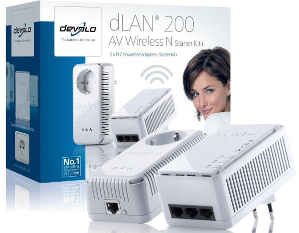 Devolo dLAN 200 AV Wireless N Starter Kit bei Comtech für 79,90 € *Update* Jetzt für nur 50 € bei DiTech!