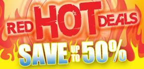 """""""Red Hot Deals"""" bei Play.com"""