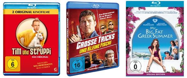 Film- und Serienangebote bei Amazon - z.B. Blu-rays ab 4,97 € oder 2 TV-Serien für 20 €