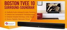 Surround-Soundbar Boston Tvee 10 für 99 € - 16% Ersparnis