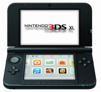 Nintendo 3DS XL in schwarz für 149 € bei Saturn DE - 15% Ersparnis